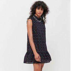 UO x VEDA High Neck Eye Print Dress